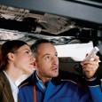 Serwisowy przegląd samochodu