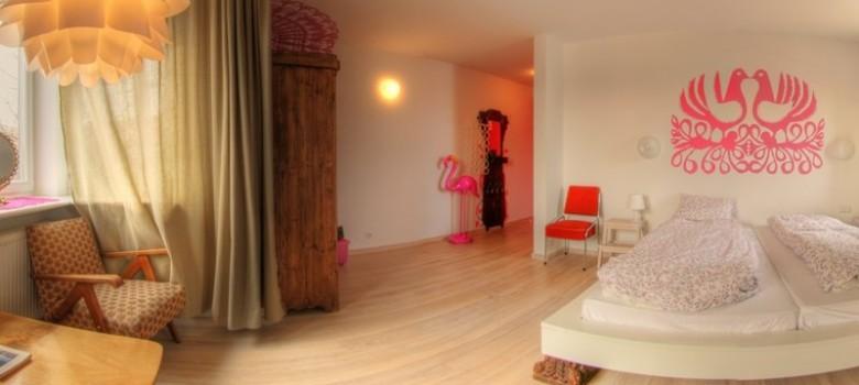 Oryginalny pomysł na nocleg - Arthotel LALALA w Sopocie