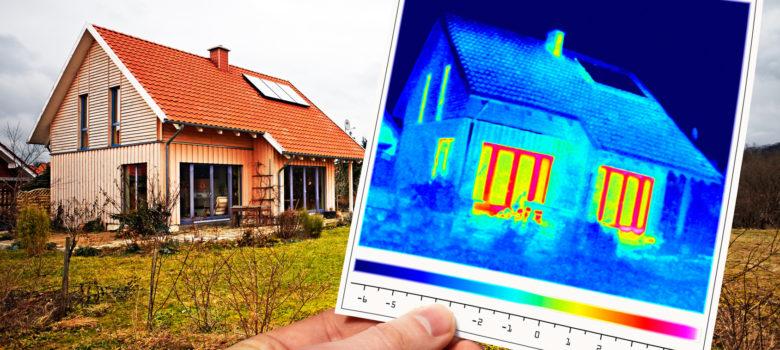 Dzięki badaniom termowizyjnym możemy sprawdzić, którędy ucieka ciepło z naszego domu i ewentualnie poprawić te elementy