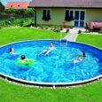 Stały basen ogrodowy to spory wydatek, który jednak z pewnością sprawi dużo radości naszym dzieciom i nie tylko!