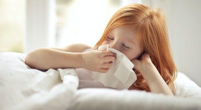 Infekcje górnych dróg oddechowych u dzieci są częste